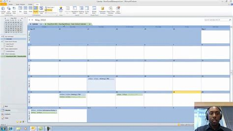 Calendar Sync Outlook 2010 How To Synch Sharepoint 2010 Calendars With Outlook 2010