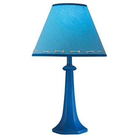 blue table l shade hardback shade cobalt blue table l free shipping on