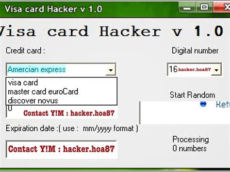 Credit Card Digits Format Conceptbackup