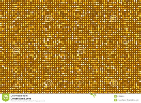 pattern gold gradient gold dots pattern seamless background eps8 vector stock