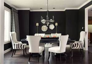 Dining Room Wall How To Use Black To Create A Stunning Refined Dining Room