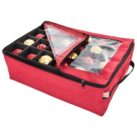 christmas ornament boxes on sale zippered ornament storage box in ornament storage boxes