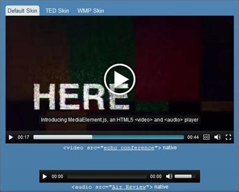Html5 Player Template by 14 Great Jquery And Html5 Audio Player Showcase