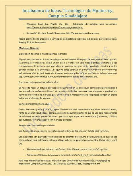 Tecnologico De Monterrey Mba Precio Dolares by Asientos Para Avion Elegibles
