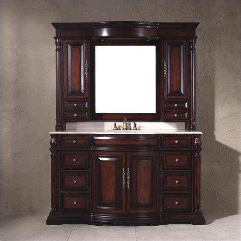 Bathroom Vanity Mirror Hutch Martin Classico 60 Quot Mirror Hutch Single Vanity