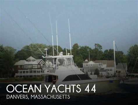 ocean boats for sale massachusetts canceled ocean yachts 44 boat in danvers ma 091188