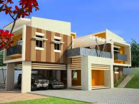 Modern House Plans Designs Modern Home Design In The Philippines Modern House Plans