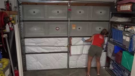 Diy Garage Door Insulation by Diy Garage Door Insulation Easy Way To Save Money