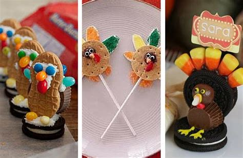 edible crafts for to make 24 edible thanksgiving crafts for allfreekidscrafts
