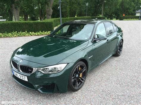 british racing green first british racing green bmw m3 looks classy