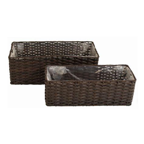 pflanzkübel roller polyrattan pflanzk 195 188 bel g 252 nstig kaufen