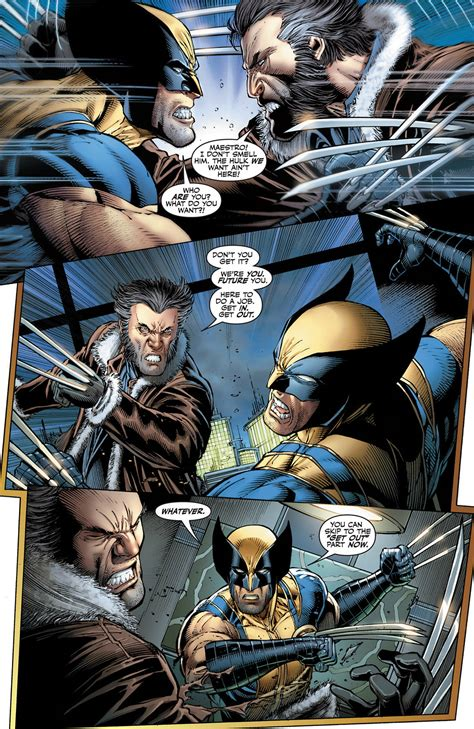 three selves the and wolverine vs their future selves comicnewbies