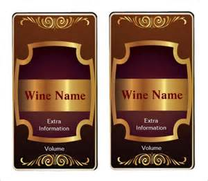 create your own label template wine label templates images