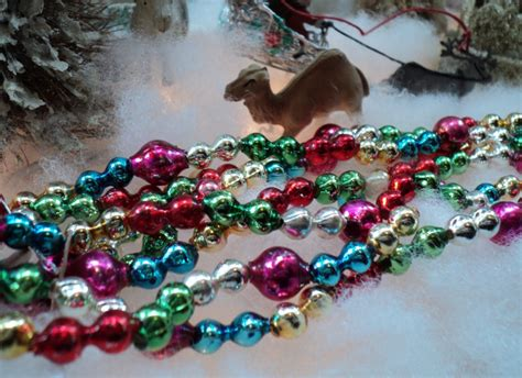 glass tree garland glass bead garland for tree 28 images large vintage