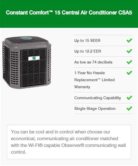 constant comfort air conditioners mesa az ac units phoenix arizona