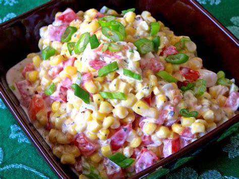 cold salad ideas creamy corn salad 78recipes