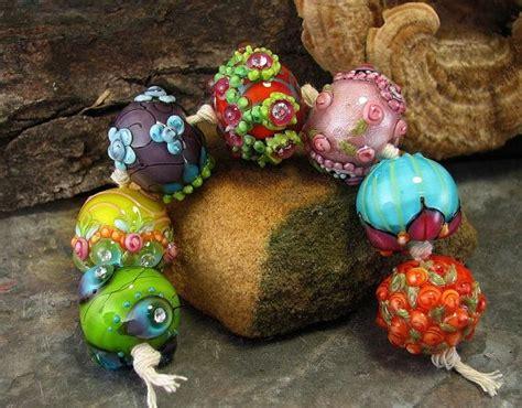 sari rainbow lwork bead chunkies devamati lwork bead set
