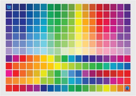 The Color Of colors vector graphics freevector