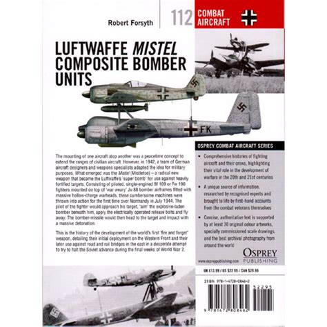 libro luftwaffe mistel composite bomber luftwaffe mistel composite bomber units osprey combat aircraft 112 vdmedien24 de