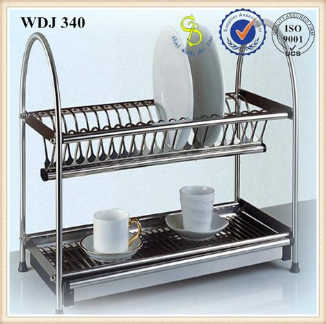 dish hanging rack professional wall amount steel dish drainer wall hanging dinner dish drying rack manufacture