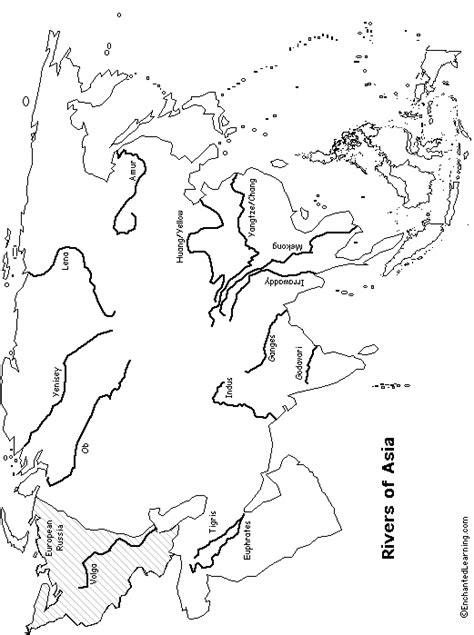 asia physical map blank blank physical map of asia with rivers