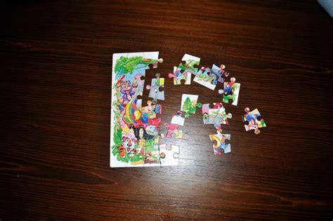 tisch zum puzzeln kostenlose bild puzzles kinder tisch
