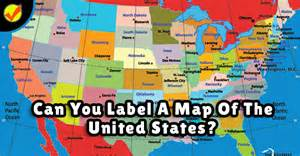 can you label a map of the united states quiz social