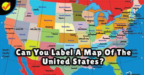 maps of the united states for can you label a map of the united states quiz social