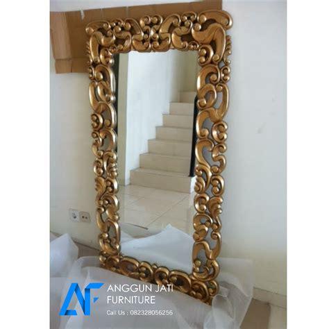Cermin Persegi Panjang cermin hias persegi panjang figura ukir jepara murah