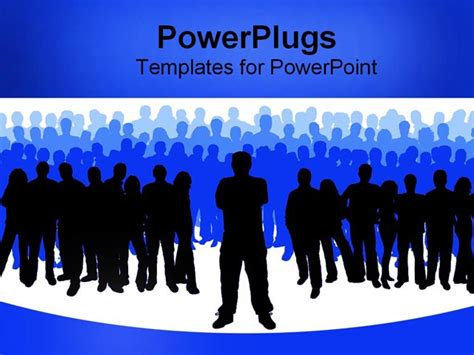 template powerpoint leadership business leader powerpoint template background of