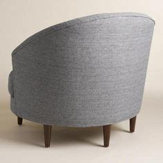 half moon chair covers gray seren chair and a half upholstery shape and gray