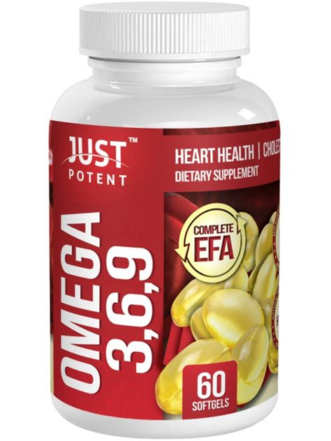 omega 9 supplements omega 3 6 9 supplement by just potent health