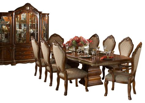 china cabinet and dining room set 8 cortina rectangular dining room table set with