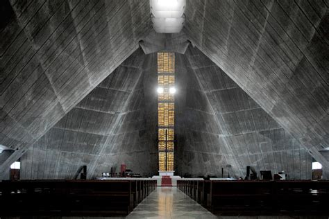 Japanese House Design by St Mary S Cathedral In Tokyo Kenzo Tange Archeyes