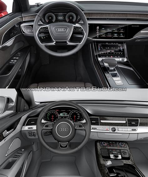 2018 Audi A8 vs. Audi 2014 Audi A8 Old vs. New