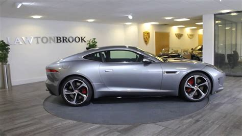 jaguar f type r silver with black lawton brook