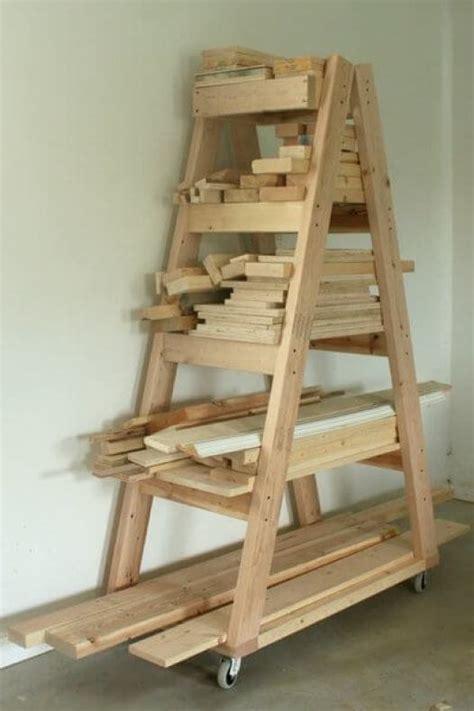 Rack It Lumber Rack by Easy Portable Lumber Rack Free Diy Plans Rogue Engineer