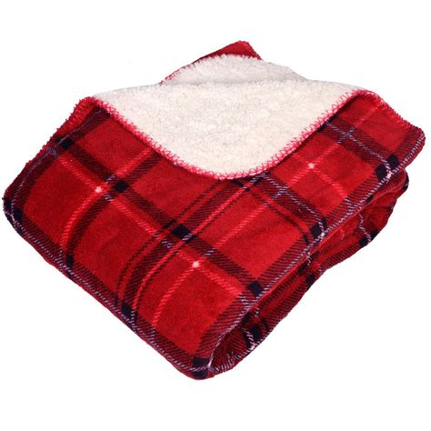 check throws for sofas luxury microsherpa reversible throw red check blanket bed sofa