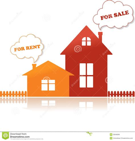 house on rent houses for sale and for rent vector illustration royalty