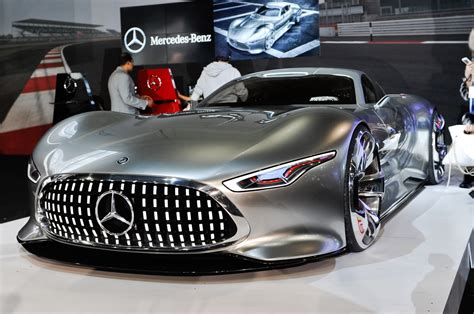 future mercedes mercedes benz amg vision gran turismo concept is stunning