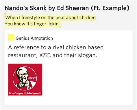 ed sheeran nandos skank mp3 download when i freestyle on the beat about chicken you nando