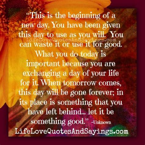 new day new beginning quotes quotesgram