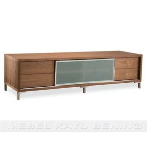 Rak Tv Stainless rak tv kayu jati model minimalis rasela mebel kayu