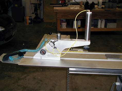 pneumatic clamps  sliding table saws
