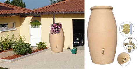 recuperateur eau de pluie 1000 litres 2384 r 233 cup 233 rateur d eau bellijardin 1000 litres forme jarre