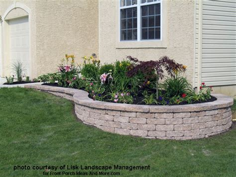 Front Porch Landscaping Ideas How To Landscape Mobile Home Front Yard Landscaping Ideas Pictures Studio Design Gallery