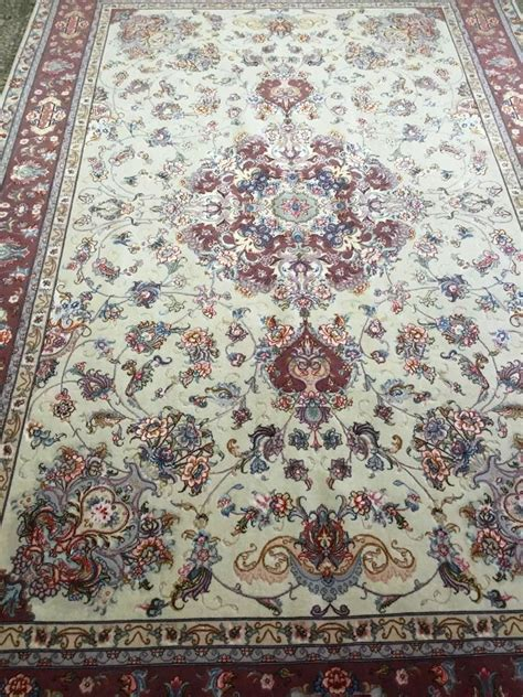 place rug tabriz rug10 1 x 6 6 ft 310 x 202 cm rugs place