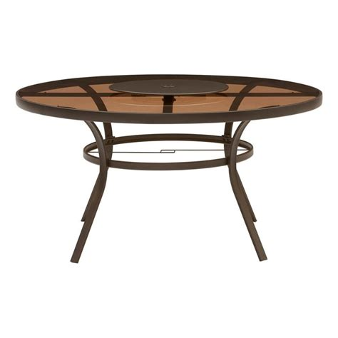 5 X 3 Dining Table Shop Garden Treasures Verdant Bay 57 5 In W X 3 In L Steel Dining Table At Lowes