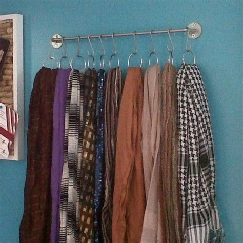 17 best ideas about scarf storage on scarf