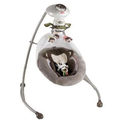 my little snug a monkey swing fisher price infant baby deluxe take along swing on popscreen